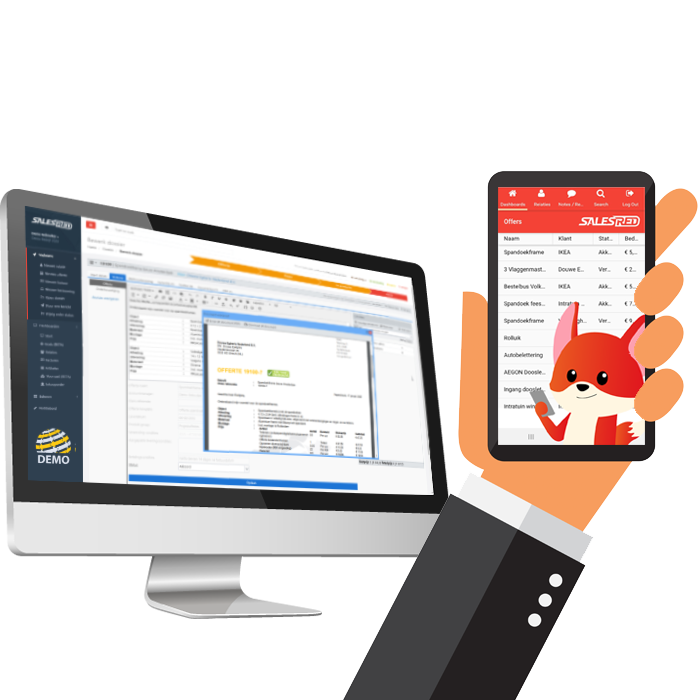 salesred software mobile